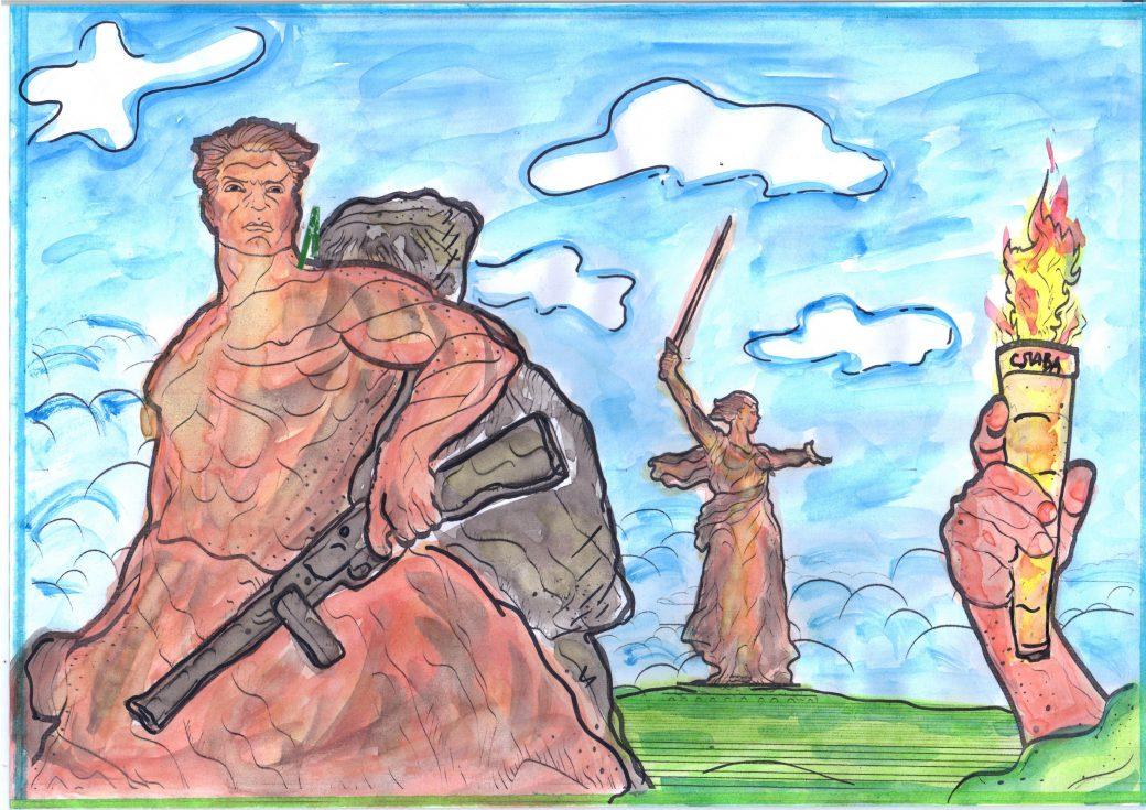 Надписью, картинки на тему россии верные сыны